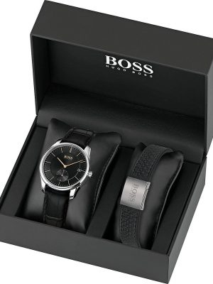 Hugo Boss Herren-Uhren-Sets Analog Quarz