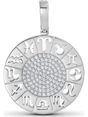 JETTE Silver Damen-Charm 925er Silber 94 Zirkonia Jette silber