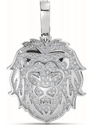 Kettenanhänger aus Sterling Silber mit 61 Zirkonia
