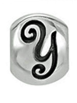 Lovelinks 1180220-Y Charm Bead Sterling Silver Buchstabe Letter Y