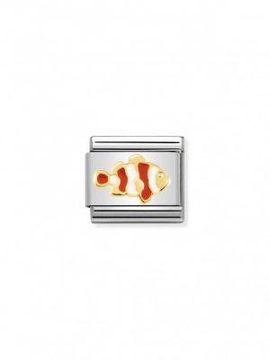 Nomination Charm - Clown Fisch - 030272/40 tricolor
