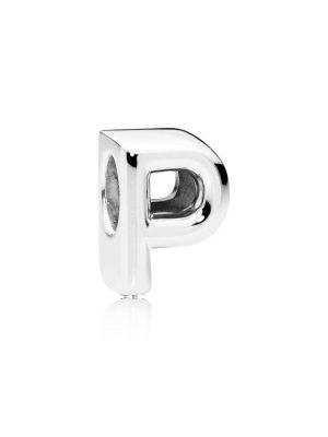 Pandora 797470 Charm Buchstabe Letter P Silber
