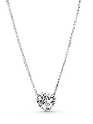 Pandora Halskette - Heart Family Tree - 399261C01-50 silber