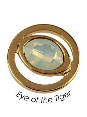 Quoins Anhänger - Eye of the Tiger - QMOK-03S-R-OP roségold