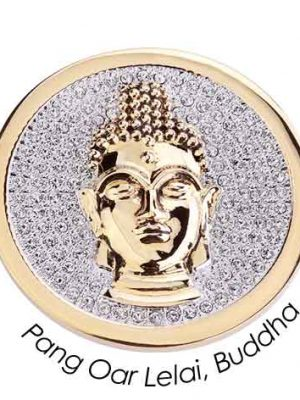 Quoins Charm - Pang Par Lelai Buddha - QMOA-29L-G gold