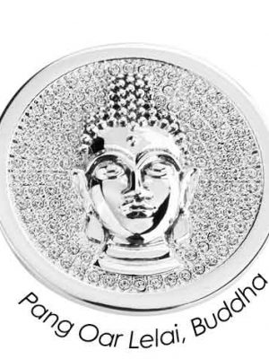 Quoins Charm - Pang Par Lelai Buddha - QMOA-29L-Z silber