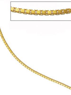 SIGO Venezianerkette 585 Gelbgold diamantiert 2 mm 60 cm Gold Kette Goldkette