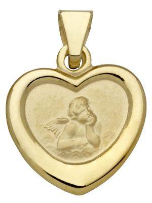 Schneider Basic Anhänger - Gold - Schutzengel - EN18 gold