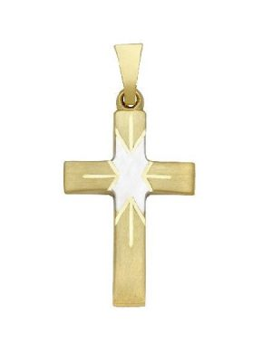 Schneider Basic Anhänger - Kreuz - Gold - K04 gold