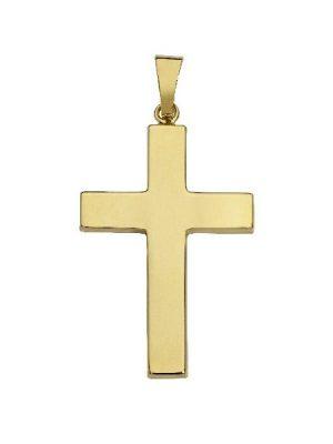 Schneider Basic Anhänger - Kreuz - Gold - K09 gold