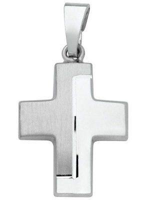 Schneider Basic Anhänger - Silber - Kreuz - SKE19 silber