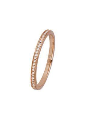 Stardiamant Ring - Brillant Rosegold 585 - D6434R roségold