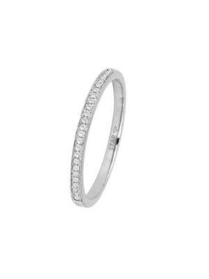 Stardiamant Ring - Brillant Weißgold 585 - D6434W silber