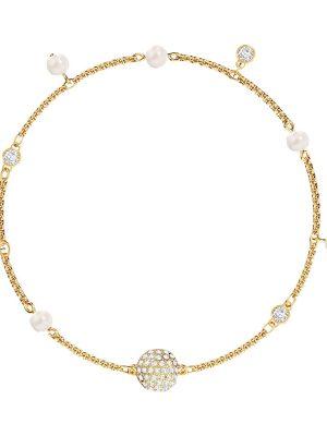 Swarovski Armband - Remix Delicate Pearl Strand - 5572077 gold