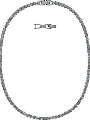 Swarovski Halskette - Tennis Deluxe - 5517113 schwarz