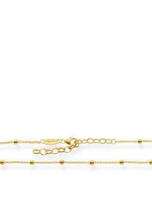 Thomas Sabo AK0002-413-39 Fußkette Damen Dots Silber Vergoldet