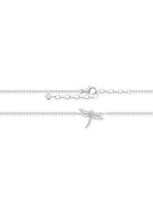 Thomas Sabo AK0010-051-14 Fusskette Damen Libelle Sterling-Silber 27 cm