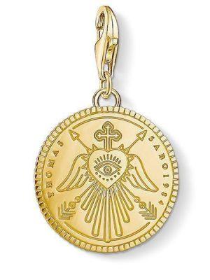 Thomas Sabo Charm - Charm Club - Coin Gold - 1705-413-39 gold