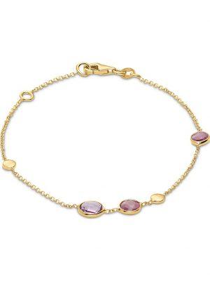 CHRIST Damen-Armband 375er Gelbgold 2 Rubin CHRIST C-Collection gelbgold