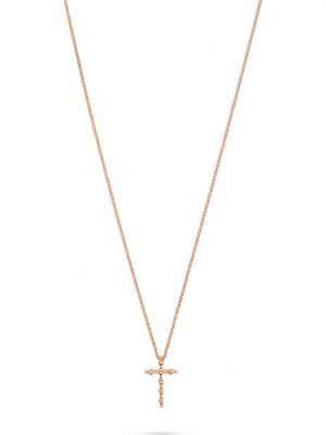 CHRIST Gold Damen-Kette Collier Kreuz CHRIST GOLD roségold