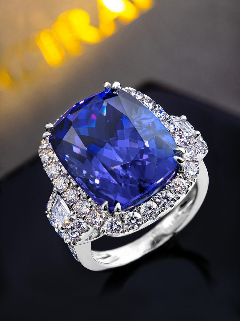 Schmuck Tansanit Ring