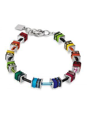 Coeur De Lion 4409/30-1500 Armband GeoCUBE® Multicolor