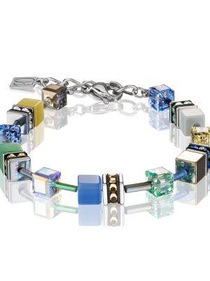 Coeur de Lion 2839/30-1576 Armband Damen GeoCUBE® Swarovski® Kristalle Gentle Edelstahl