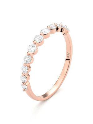 ELLA Juwelen Ring - R0180035RG/RW56 roségold