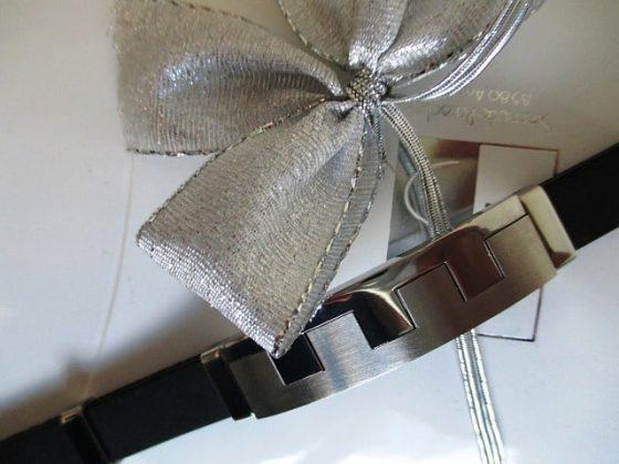 Herrenarmband aus Leder und Edelstahl