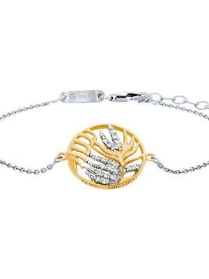 Julie Julsen Armband - Palmenblatt - JJBR0837.3 gold