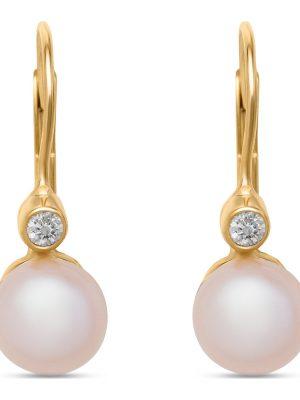 Ohrringe, Ohrhänger aus 375 Gelbgold, Valeria 87686442, EAN: 4040615353449