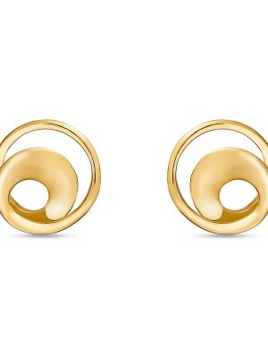 Ohrringe, Ohrstecker aus 375 Gelbgold, Valeria 87683851, EAN: 4040615351360