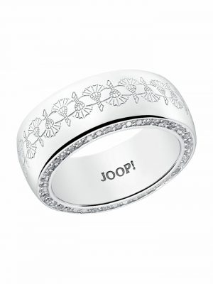 Ring für Damen, Sterling Silber 925, Zirkonia JOOP! Silber