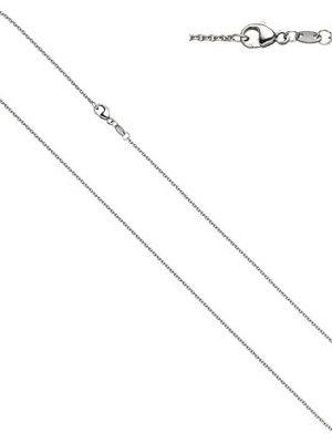SIGO Ankerkette 950 Platin 1,5 mm 70 cm Kette Halskette Platinkette Karabiner
