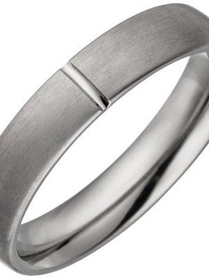 SIGO Partner Ring aus Titan matt Partnerring Titanring