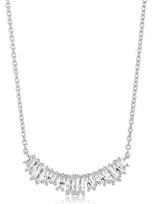 Sif Jakobs Jewellery Damen-Kette 925er Silber Zirkonia Sif Jakobs Silber