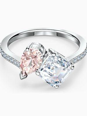 Swarovski 5535285 Ring Damen Attract Soul Rosa Silber-Ton Gr. 60