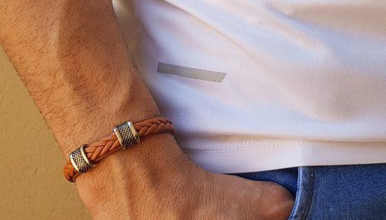 Herrenarmband mit Kordeln