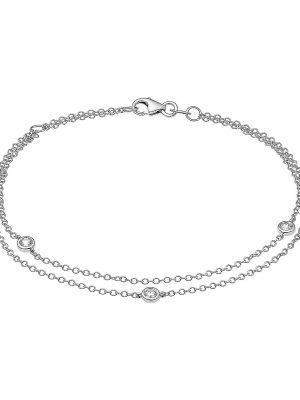 Armband aus Weißgold, Valeria 1425.0001P.19.04, EAN: 4064721557263
