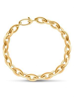 CHRIST Gold Damen-Armband Weißgold/Rotgold/gold CHRIST GOLD gold