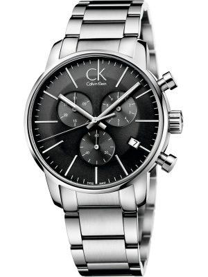 Calvin Klein Herrenuhr im SALE Chronograph K2G27143, silber, EAN: 7612635081557