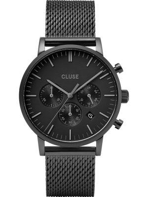 Cluse Herrenuhr im SALE Chronograph Aravis Chrono CW0101502007, schwarz, EAN: 8719743374966