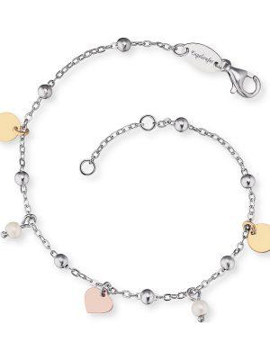 Engelsrufer im SALE Armband aus 925 Silber Damen, ERB-LILJOY-PE-TR, EAN: 4260562160499