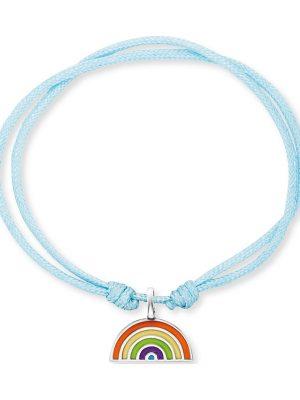 Engelsrufer im SALE Armband aus Perlon/Nylon, HEB-RAINBOW, EAN: 4260645866454