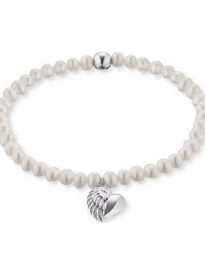 Engelsrufer im SALE Armband aus Silber Damen, ERB-HEARTWING-PE, EAN: 4260562168921