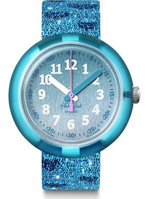 Flik Flak im SALE Kinderuhr Turquoise Sparkle FPNP064, FPNP064, EAN: 7610522820029