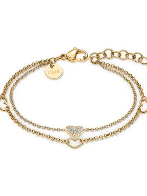 GMK Collection Armband aus Edelstahl Damen, B130 IPG, EAN: 4064721558796