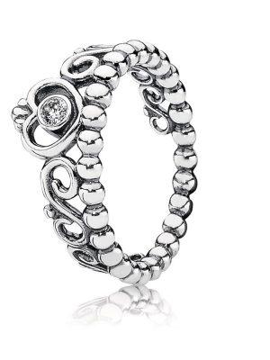 Pandora 190880CZ Ring Diadem Silber Gr. 60