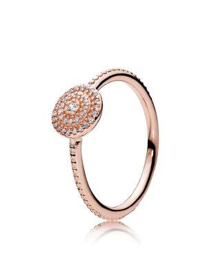 Pandora Rose 180986CZ Ring Strahlende Eleganz Gr. 48