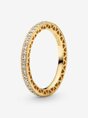 Pandora Shine 168655C01 Ring Damen Funkeln & Herzen Gr. 48